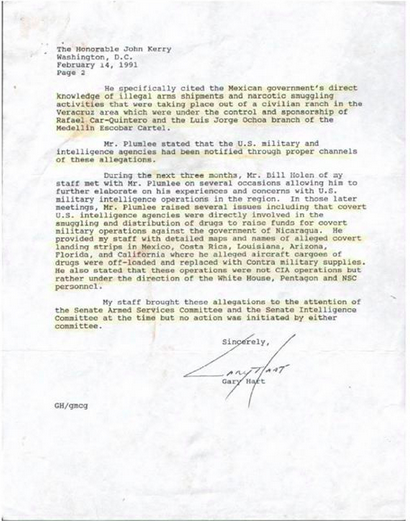 Kerry Letter